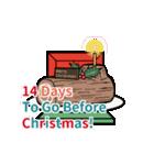 クリスマス前に♪アドベントカレンダー(個別スタンプ:11)
