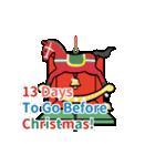 クリスマス前に♪アドベントカレンダー(個別スタンプ:12)