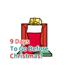 クリスマス前に♪アドベントカレンダー(個別スタンプ:16)