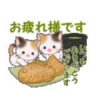 三毛猫ツインズ 優しい冬(個別スタンプ:10)