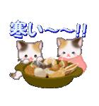 三毛猫ツインズ 優しい冬(個別スタンプ:19)