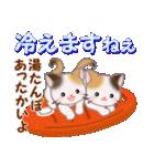 三毛猫ツインズ 優しい冬(個別スタンプ:20)