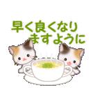 三毛猫ツインズ 優しい冬(個別スタンプ:26)