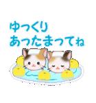 三毛猫ツインズ 優しい冬(個別スタンプ:29)