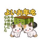 三毛猫ツインズ 優しい冬(個別スタンプ:36)