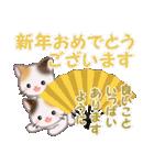 三毛猫ツインズ 優しい冬(個別スタンプ:38)