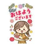 【BIG】冬~新春♡ナチュラルガール(個別スタンプ:2)