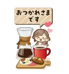【BIG】冬~新春♡ナチュラルガール(個別スタンプ:10)