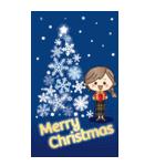 【BIG】冬~新春♡ナチュラルガール(個別スタンプ:37)