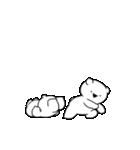 すこぶる動くちびウサギ&クマ【愛2】(個別スタンプ:3)