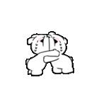 すこぶる動くちびウサギ&クマ【愛2】(個別スタンプ:5)