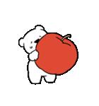 すこぶる動くちびウサギ&クマ【愛2】(個別スタンプ:17)