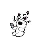 すこぶる動くちびウサギ&クマ【愛2】(個別スタンプ:21)