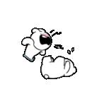 すこぶる動くちびウサギ&クマ【愛2】(個別スタンプ:22)