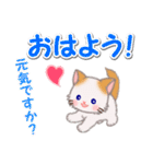 もふもふしっぽの子猫ちゃん 毎日使う言葉(個別スタンプ:2)