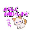 もふもふしっぽの子猫ちゃん 毎日使う言葉(個別スタンプ:25)