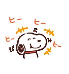 カナヘイ×スヌーピー(個別スタンプ:11)