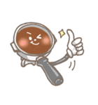 バリスタ!&コーヒー器具(個別スタンプ:2)