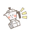 バリスタ!&コーヒー器具(個別スタンプ:10)