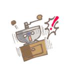 バリスタ!&コーヒー器具(個別スタンプ:12)