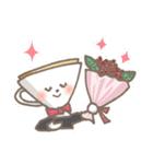バリスタ!&コーヒー器具(個別スタンプ:16)