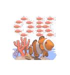 1000匹超え!!魚のメッセージ[動く3D](個別スタンプ:2)