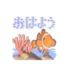 1000匹超え!!魚のメッセージ[動く3D](個別スタンプ:5)
