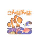 1000匹超え!!魚のメッセージ[動く3D](個別スタンプ:7)