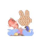 1000匹超え!!魚のメッセージ[動く3D](個別スタンプ:11)