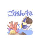 1000匹超え!!魚のメッセージ[動く3D](個別スタンプ:17)