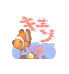 1000匹超え!!魚のメッセージ[動く3D](個別スタンプ:20)