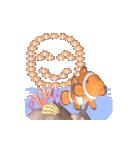 1000匹超え!!魚のメッセージ[動く3D](個別スタンプ:21)
