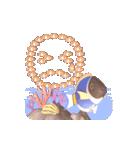 1000匹超え!!魚のメッセージ[動く3D](個別スタンプ:22)