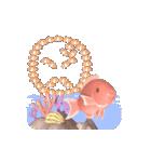 1000匹超え!!魚のメッセージ[動く3D](個別スタンプ:23)
