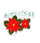 手書きクレヨン風 冬のスタンプ(個別スタンプ:5)