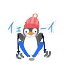 手書きクレヨン風 冬のスタンプ(個別スタンプ:23)