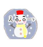 手書きクレヨン風 冬のスタンプ(個別スタンプ:24)