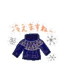 手書きクレヨン風 冬のスタンプ(個別スタンプ:30)