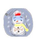 手書きクレヨン風 冬のスタンプ(個別スタンプ:31)