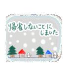 手書きクレヨン風 冬のスタンプ(個別スタンプ:34)