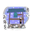 手書きクレヨン風 冬のスタンプ(個別スタンプ:38)