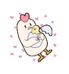 ママ。鶏(個別スタンプ:3)
