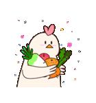 ママ。鶏(個別スタンプ:4)