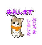 冬のもこもこ猫ちゃんズ(個別スタンプ:7)