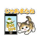 冬のもこもこ猫ちゃんズ(個別スタンプ:8)