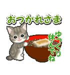 冬のもこもこ猫ちゃんズ(個別スタンプ:9)