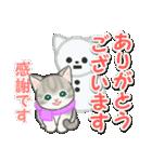 冬のもこもこ猫ちゃんズ(個別スタンプ:11)