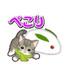 冬のもこもこ猫ちゃんズ(個別スタンプ:17)