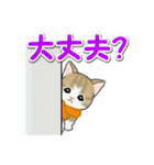 冬のもこもこ猫ちゃんズ(個別スタンプ:19)