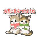 冬のもこもこ猫ちゃんズ(個別スタンプ:30)